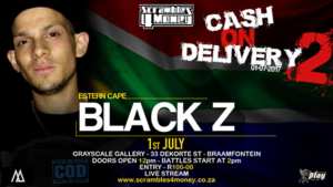 Black Z Cash on Delivery 2 Scrambles 4 Money