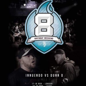 Innuendo v Dunn D Dont Flop #8BW 2016 Dont Flop 8 Birthday Weekend England 2016