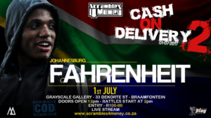 Fahrenheit Cash on Delivery 2 Scrambles 4 Money