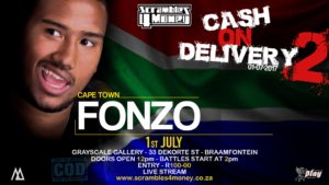 Fonzo Cash on Delivery 2 Scrambles 4 Money