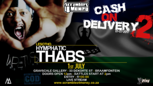 Hymphatic Thabs Cash on Delivery 2 Scrambles 4 Money