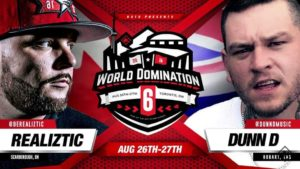 KOTD World Domination 6 2016