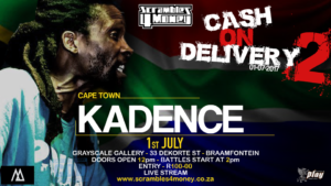 Kadence Cash on Delivery 2 Scrambles 4 Money