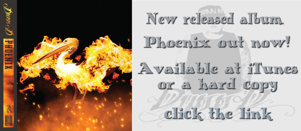 New release album Phoenix out now! Available on iTunes or hard copy click the link