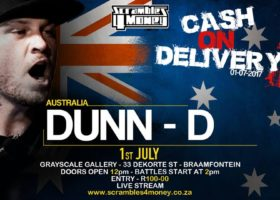 Cash on Delivery 2 Dunn D 2017 South Africa Presented by Scramble 4 Money